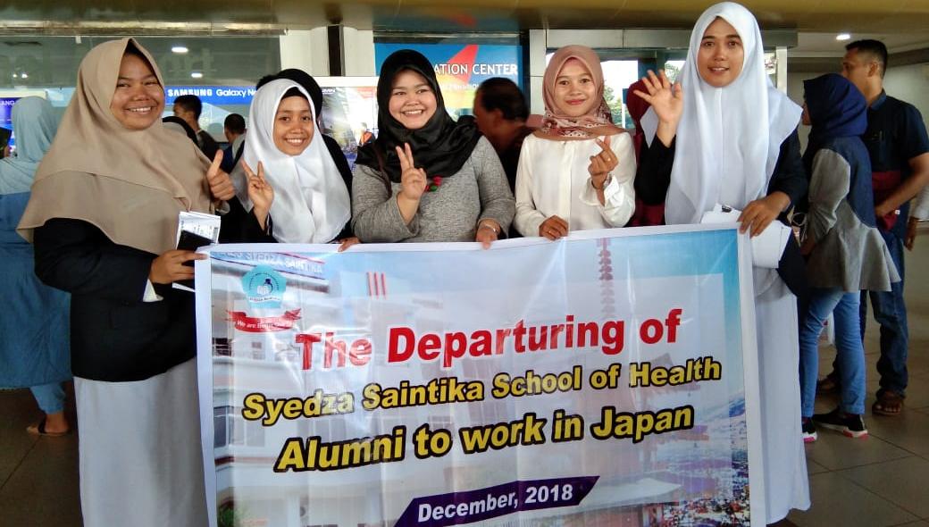Alumni STIkes Syedza to Work In Jepang