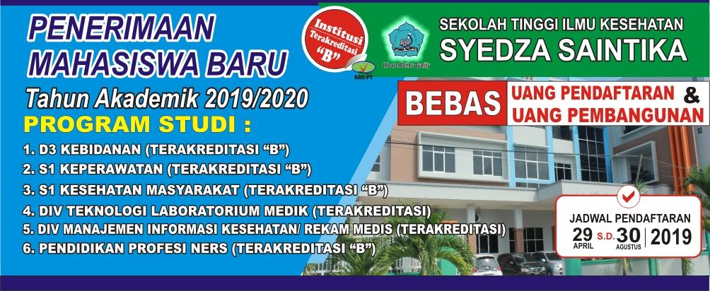 Penerimaan Mahasiswa Baru T.A. 2019/2020